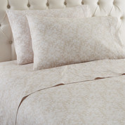 Micro Flannel Sheet Set from Shavel - Enchantment Taupe