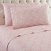 Micro Flannel Sheet Set from Shavel - Enchantment Rose