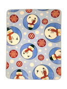 Snowman Blanket Throw from Shavel