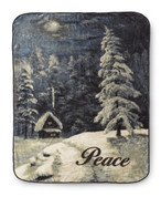 Peace Blanket Throw from Shavel