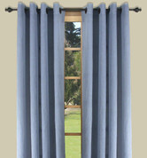 Bal Harbour Semi-Sheer Grommet Top Curtain Panel - Blue from Ricardo
