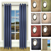 "Ultimate Blackout Grommet Top Curtains - 63"" long from Ricardo"