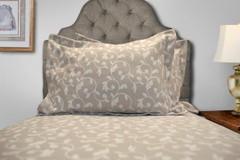Amanda Woven Pillow Sham - Beige