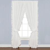 Sarah Ruffled Priscilla Curtain