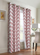 Allegra Thermologic Grommet Top Curtain pair - Burgundy from Commonwealth