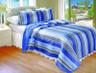 Brisbane Stripe Quilt SET from Greenland