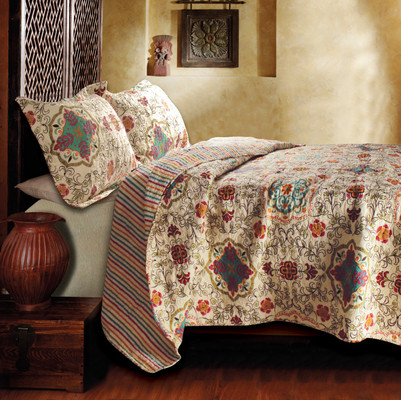 Esprit Spice Quilt Set from Greenland