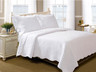 La Jolla White Quilt Set from Greenland