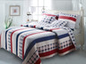Nautical Stripes Quilt Set from Greenland