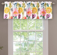 Watercolor Dream valance from Greenland