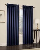 Althea Blackout Rod Pocket Curtains - NavyBlue from Lichtenberg Sun Zero