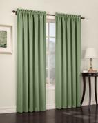 Althea Blackout Rod Pocket Curtains - Sage Green from Lichtenberg Sun Zero