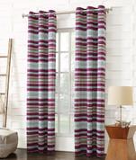 Lief Room Darkening Grommet Top Curtain - Magenta from Lichtenberg Sun Zero