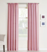 Luis Rod Pocket Curtains - Berry from Lichtenberg
