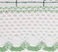 Adirondack - White/Green - Swag (pr)