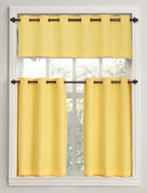 Montego grommet curtains - Yellow from Lichtenberg