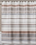 Colorware Stripe Shower Curtain from Saturday Knight