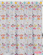 Fairy Princess Shower Curtain from Creative Bath