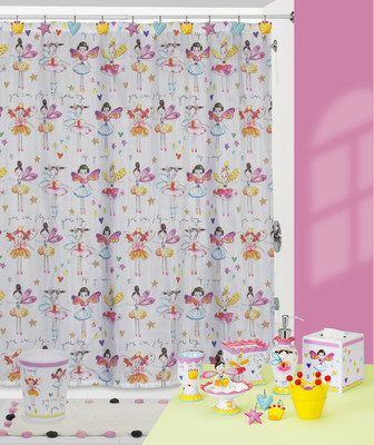 Fairy Princesses Shower Curtain and Bathroom Accessories ...