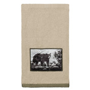 Rustic Montage hand towel from Creative Bath