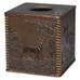 Rustic Montage tissue box cover from Creative Bath