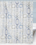 Seaside Seashells shower curtain from Creative Bath
