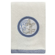 Seaside Seashells fingertip Towel from Creative Bath