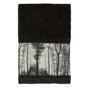 Sylvan Trees fingertip towel from Creative Bath