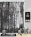 Sylvan Trees Shower Curtain and Bathroom Accessories from Creative Bath