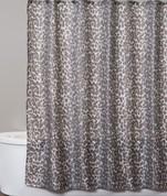 Zanzibar shower curtain from Saturday Knight