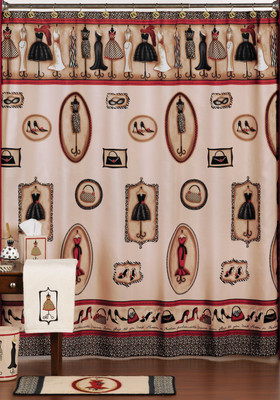 Great Fashion Passion Shower Curtain And Bathroom Accessories From Saturday Knight