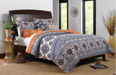 Medina Quilt Set Saffron - Full/Queen