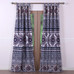 Medina tab top curtain pair - Saffron