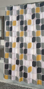 Metro Extra stall size Shower Curtain
