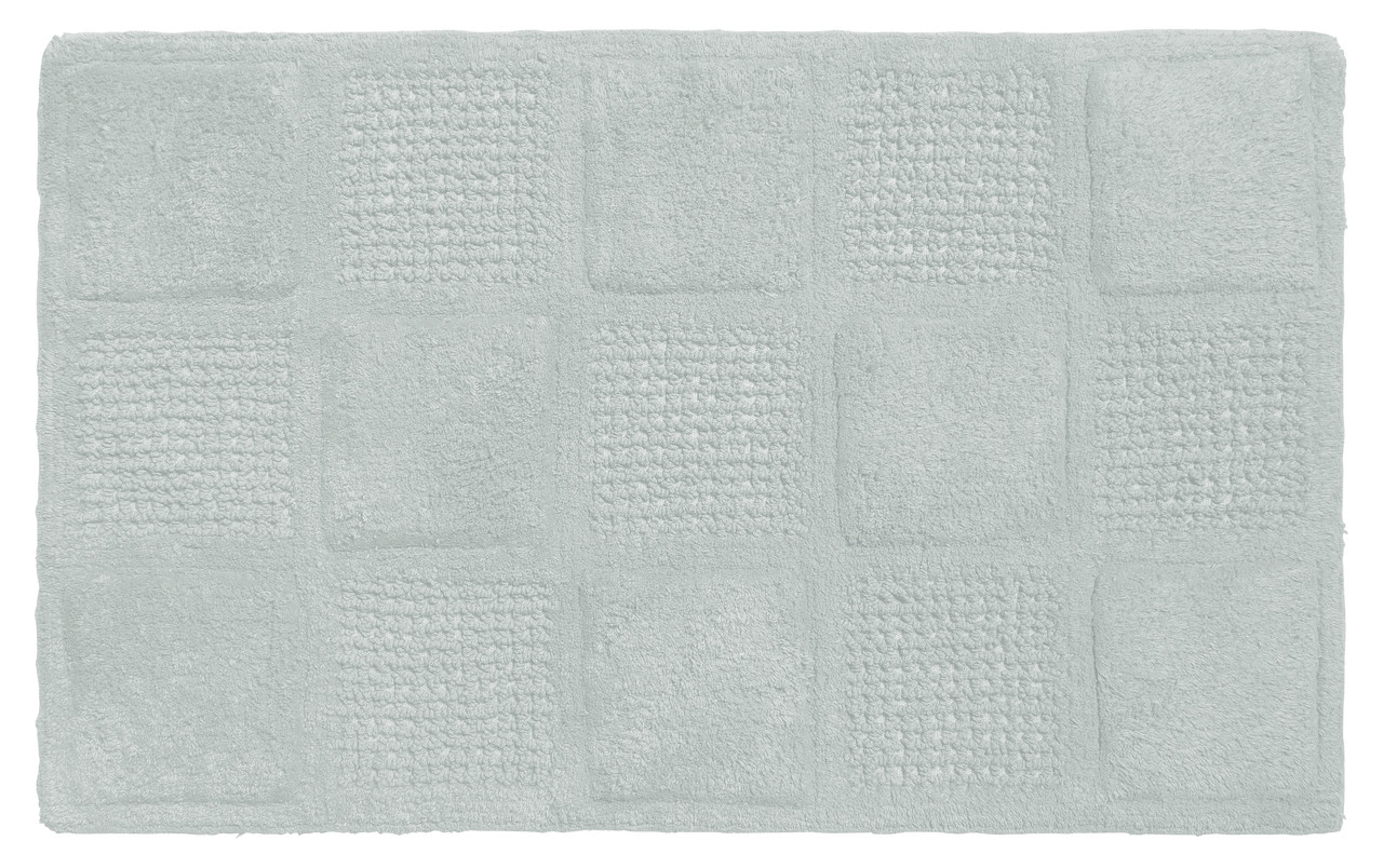 Waffle Weave Cotton Bath Rug Spa Blue Linens4less Com