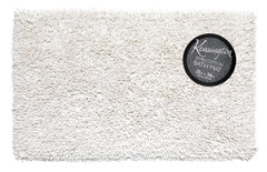 Shaggy Cotton Bath Rug - White