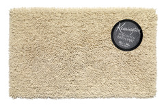 Shaggy Cotton Bath Rug - Ivory