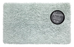 Shaggy Cotton Bath Rug - Spa Blue