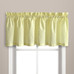 Dorothy Swiss Dot Kitchen Curtain valance - Yellow