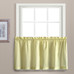 Dorothy Swiss Dot Kitchen Curtain tier - Yellow