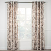 Cadogen Lined Grommet Top Curtain Panel - Grey from Ellis Curtain