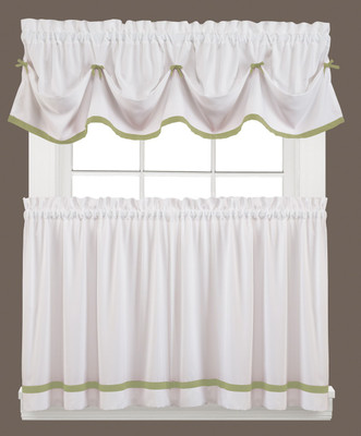 Kate Kitchen Curtain - Sage