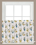 "Botanical Fruit 24"" kitchen curtain tier from Saturday Knight"