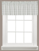 Checkmate kitchen curtain valance from Saturday Knight