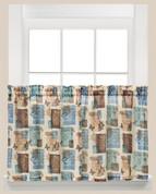 "Faith inspirational 36"" kitchen curtain tier from Saturday Knight"