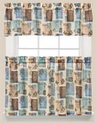 Faith Inspirational Kitchen Curtain from Saturday Knight