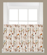 "Le Jardin 36"" kitchen curtain tier from Saturday Knight"