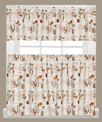 Le Jardin Kitchen Curtain from Saturday Knight