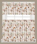 Le Jardin Kitchen Curtain from Saturday Knight
