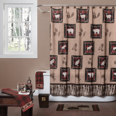 Sundance Outdoors Shower Curtain & Bathroom Accessories from Saturday Knight